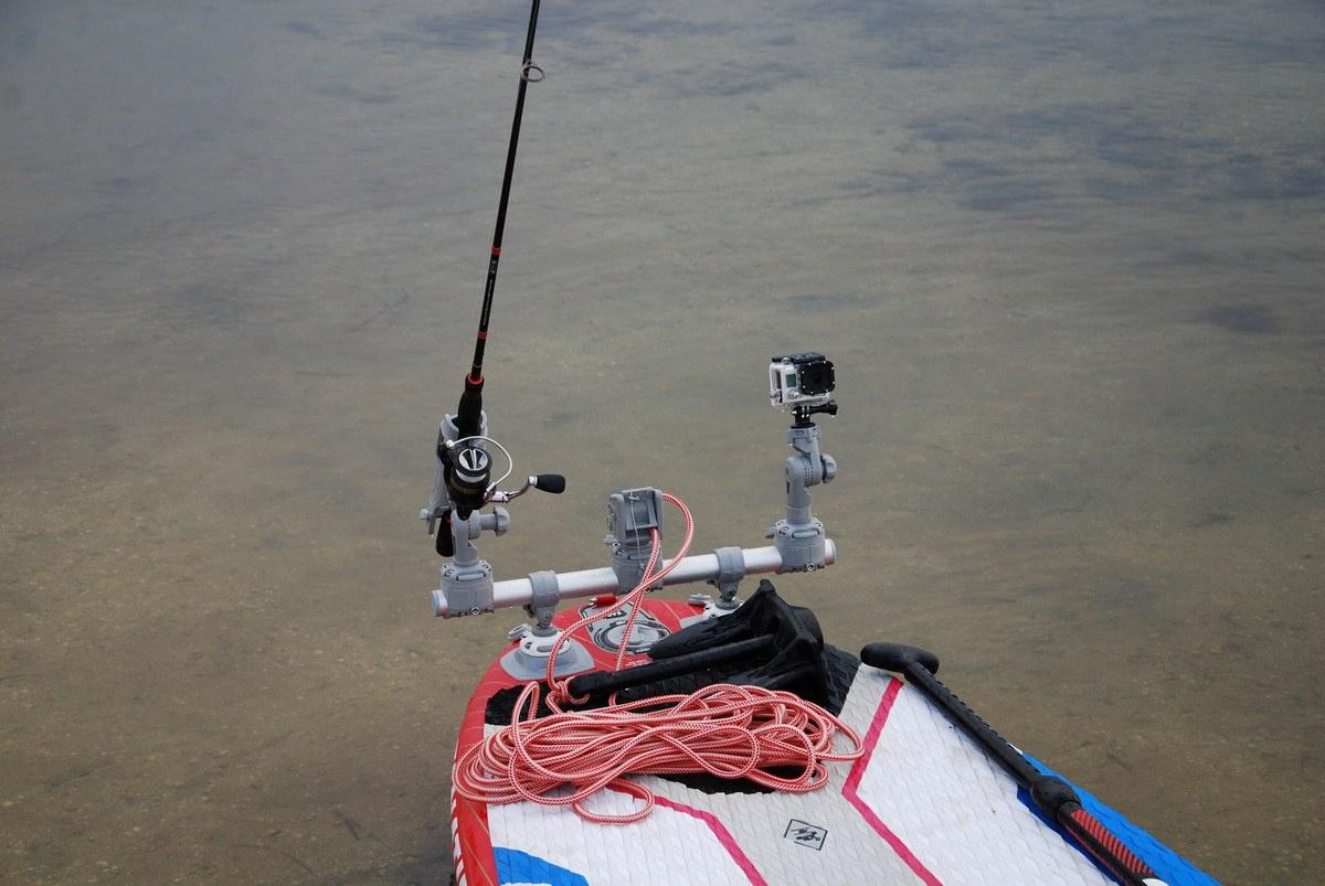 Reling 50cm z trzema uchwytami na dwa punkty zaczepu Gr500-3